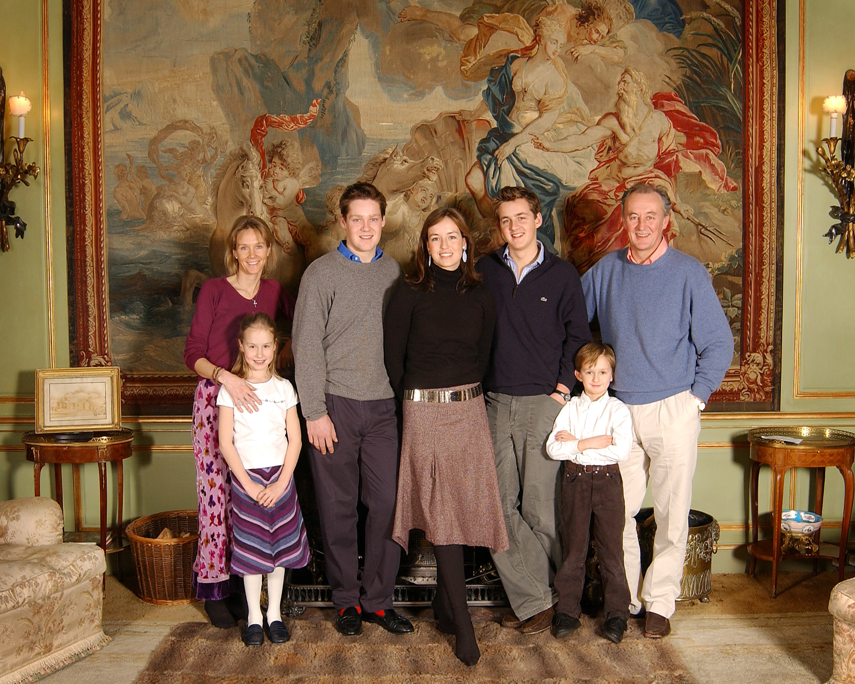 Roxburghe duke duchess for Family floors