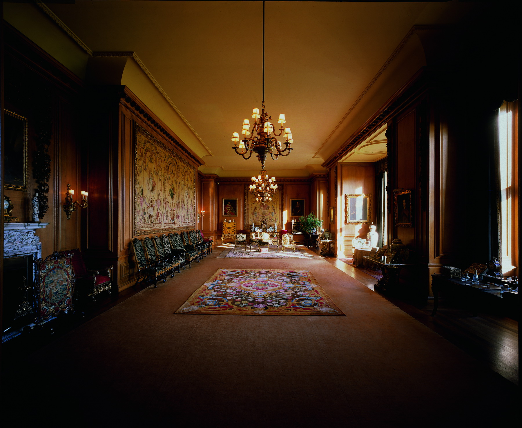 Roxburghe floors castle interior - Interior images ...